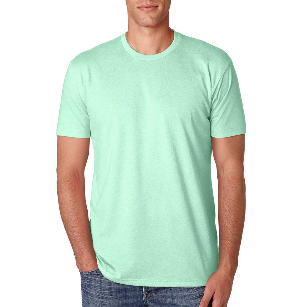 Next Level Men's Mint Premium Fitted CVC Crew Tee