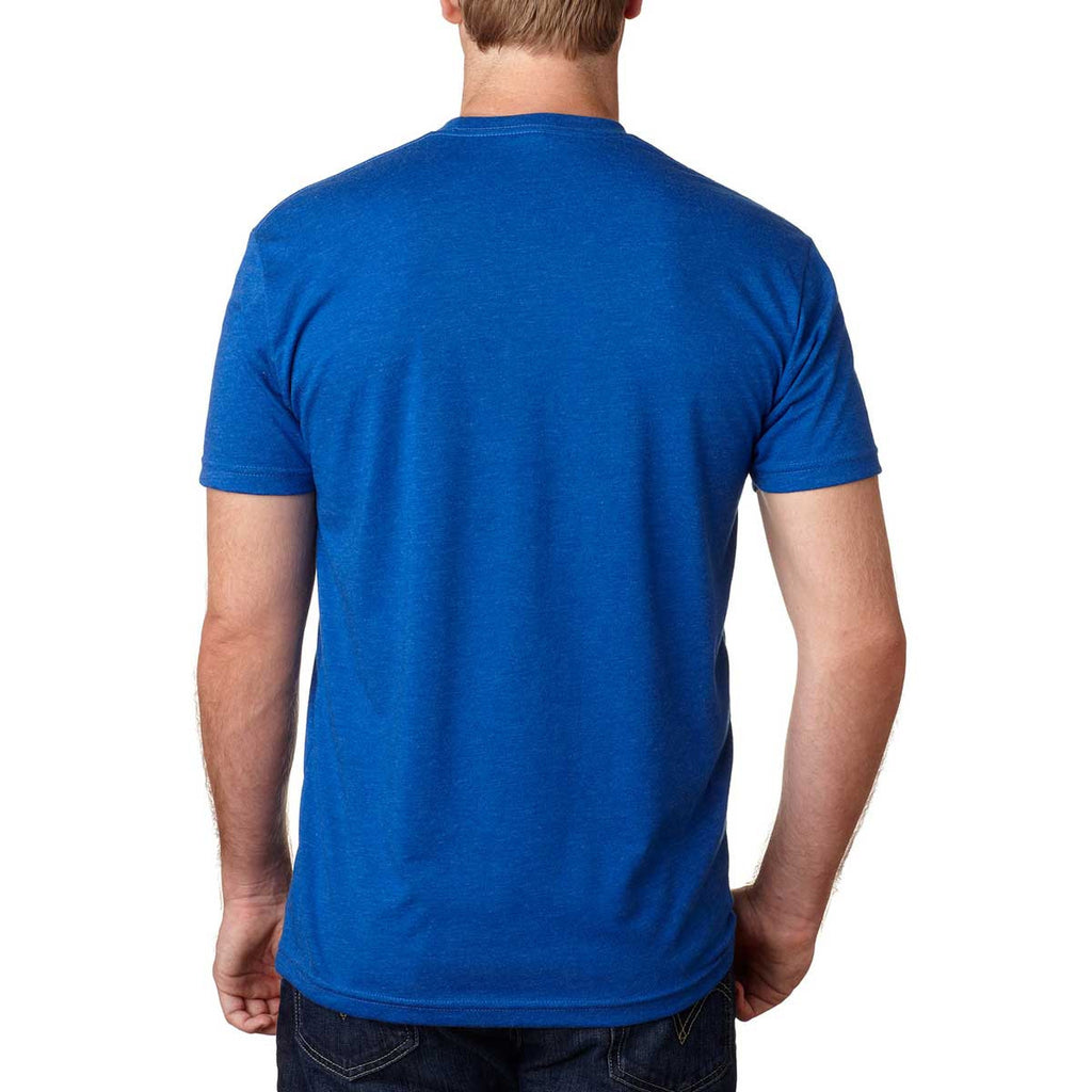 Next Level Men's Royal Premium Fitted CVC Crew Tee
