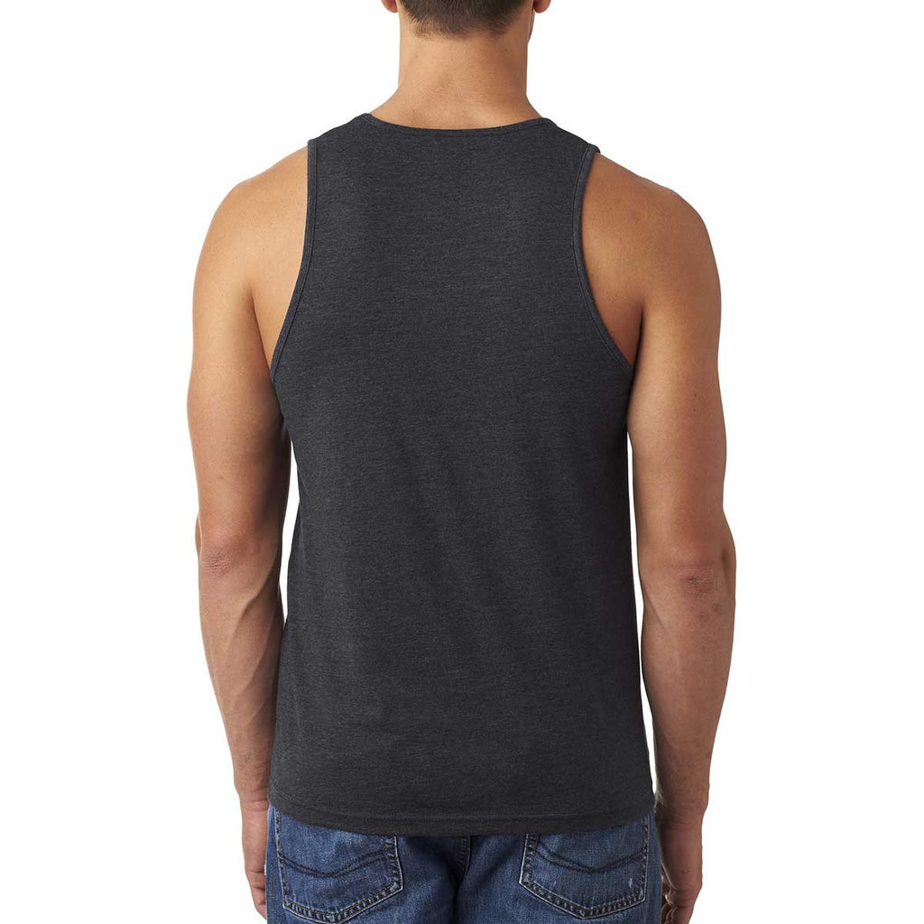 Next Level Men's Charcoal Premium Fitted CVC Tank