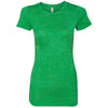 n6500-next-level-women-green-tee
