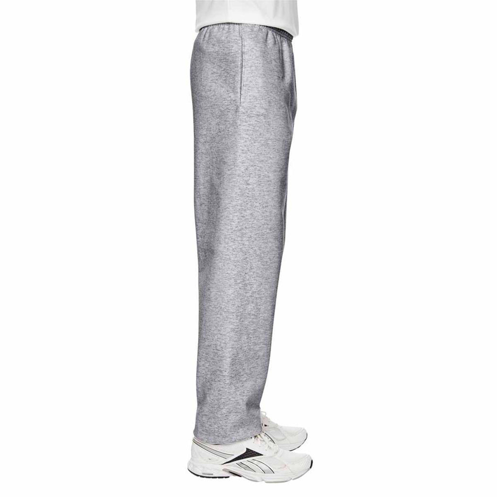 Champion Men's Athletic Heather for Team 365 Cotton Max 9.7-Ounce Fleece Pant