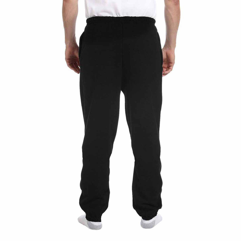 Champion Men's Black for Team 365 Cotton Max 9.7-Ounce Fleece Pant