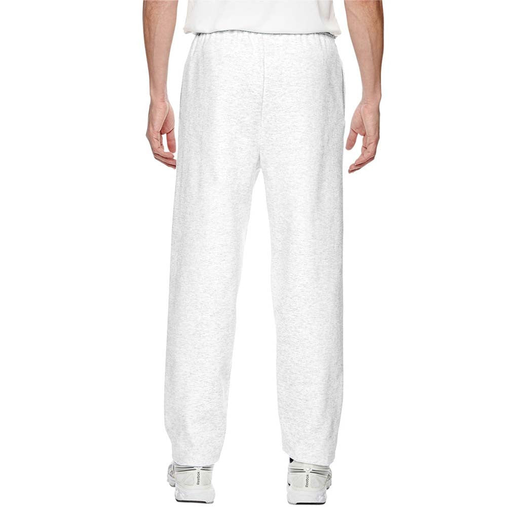 Champion Men's White Heather for Team 365 Cotton Max 9.7-Ounce Fleece Pant
