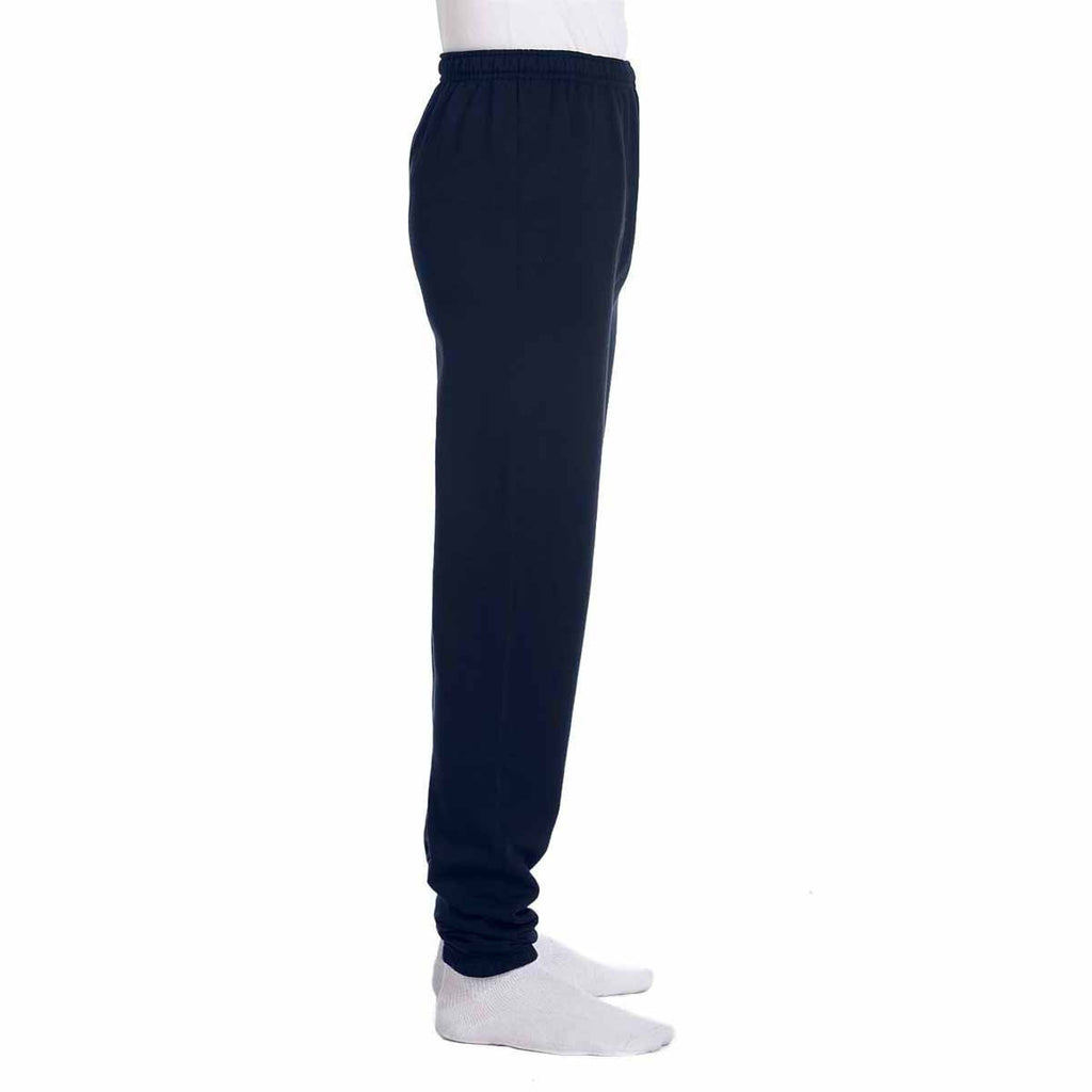Champion Men's Navy Eco 9-Ounce Fleece Pant