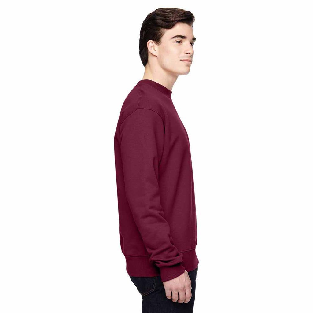 Champion Men's Sport Maroon for Team 365 Cotton Max 9.7-Ounce Crew