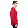 Champion Men's Sport Red for Team 365 Cotton Max 9.7-Ounce Crew