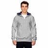 s185-champion-light-grey-quarter-zip-hood