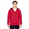 s185-champion-red-quarter-zip-hood