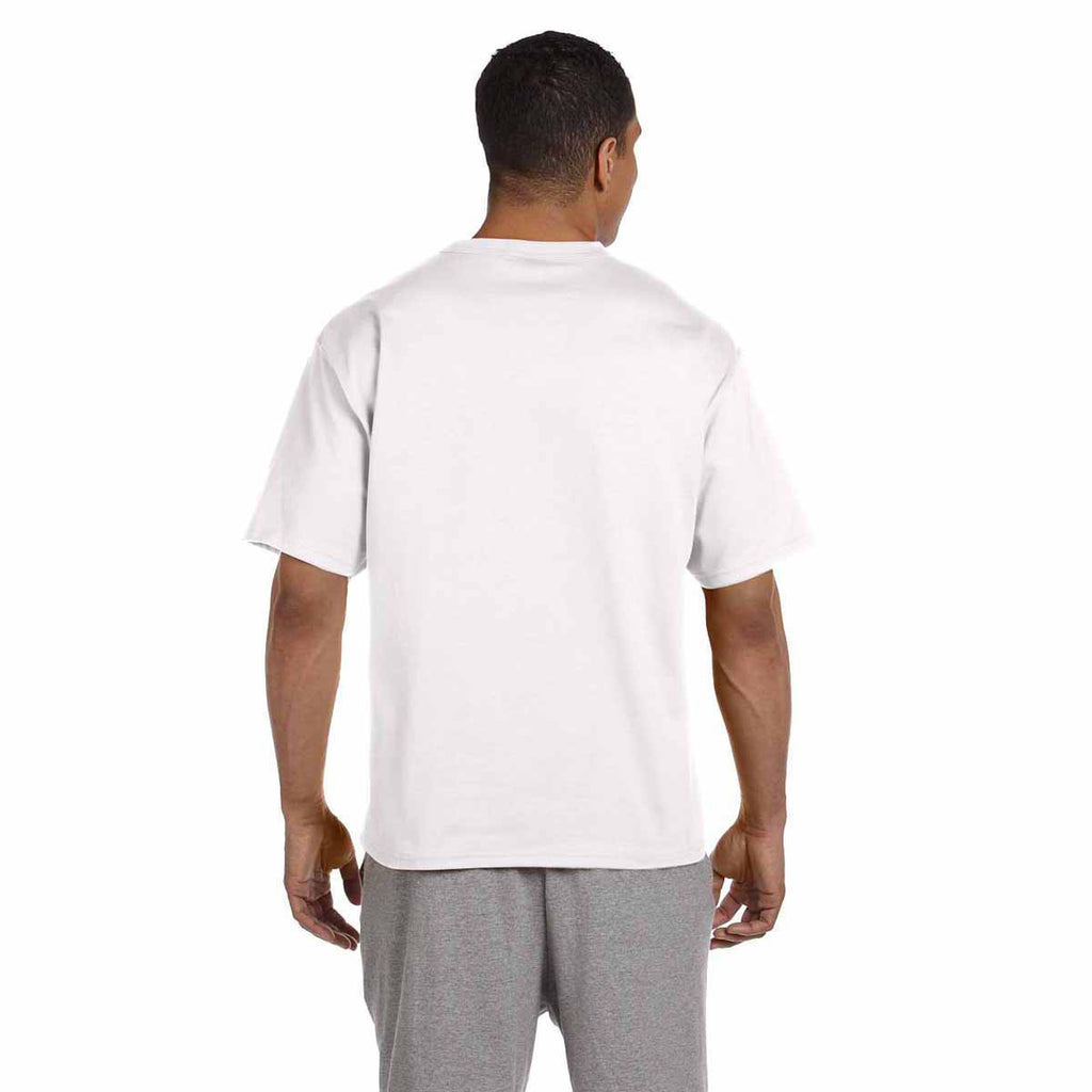 Champion Men's White Heritage 7-Ounce Jersey T-Shirt