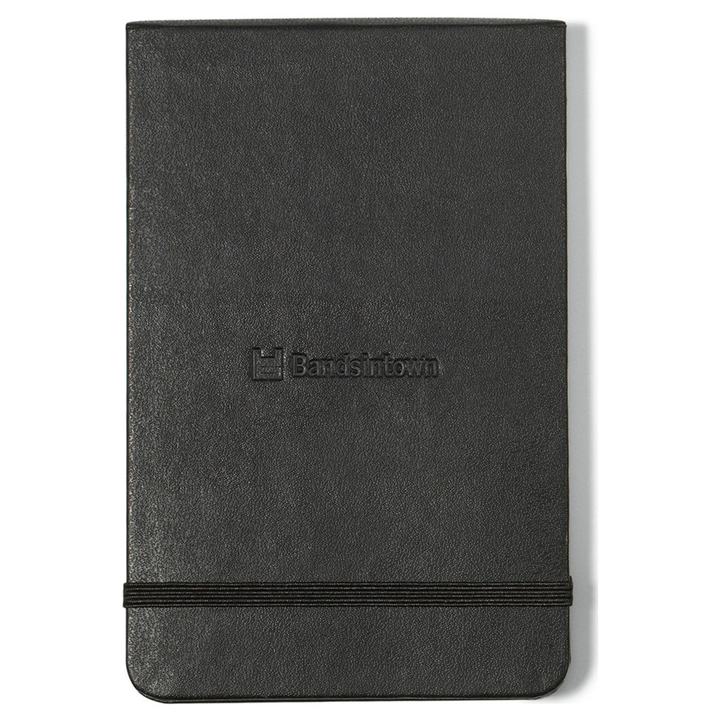 "Moleskine Black Hard Cover Ruled Pocket Reporter Notebook (3.5"" x 5.5"")"