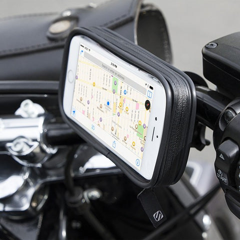 Weather-Resistant Handlebar Mount for Mobile Devices