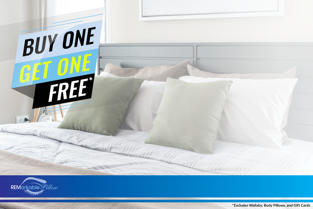 Buy One Get One Free on pillows