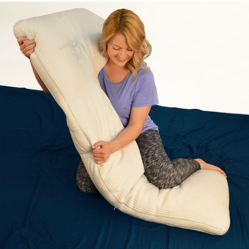 Cashmere body pillow