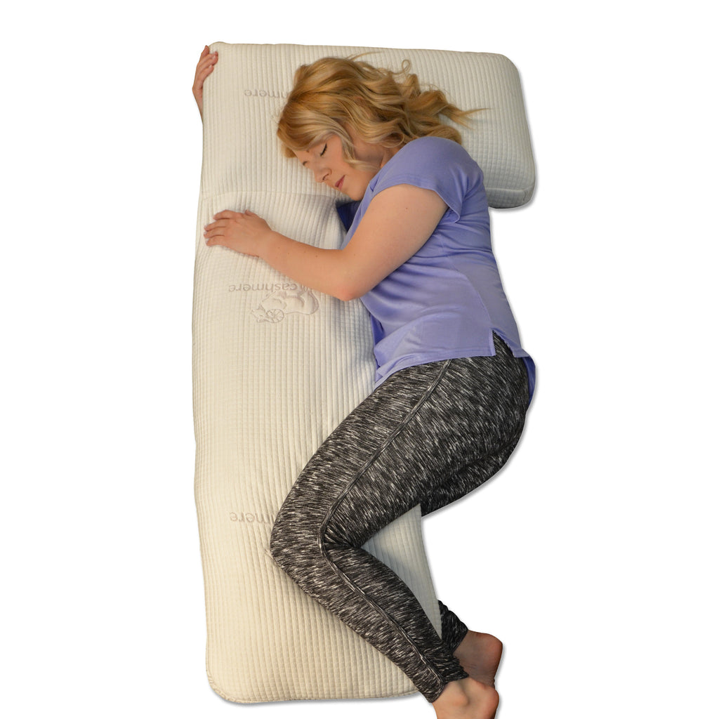 Cashmere Memory Foam Body Pillow