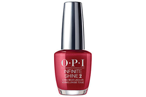 OPI INFINITE SHINE - AN AFFAIR IN RED SQUARE  15 ML. - Nails Plus Depot
