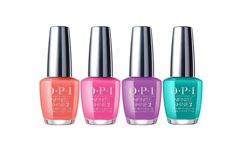 OPI INFINITE SHINE NEON  COLLECTION SUMMER 2019 - Nails Plus Depot