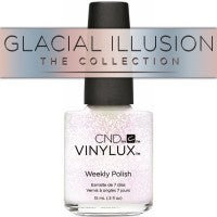 CND VINYLUX - GLACIAL ILLUSION THE COLLECTION -  0.5 OZ. - Nails Plus Depot