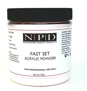 FAST SET ACRYLIC POWDER - Nails Plus Depot