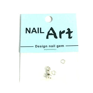3D Nail Art Dangle Charm - Teddy Bear - Nails Plus Depot