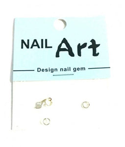 3D Nail Art Dangle Charm - Gold Shoe - Nails Plus Depot
