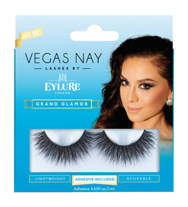 Eylure Vegas Nay Grand Glamour Eyelashes Kit - Nails Plus Depot