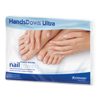 "GRAHAM PROFESSIONAL HANDS DOWN ULTRA MANICURE TOWELS, 11.9"" X 16"", 50CT - Nails Plus Depot"