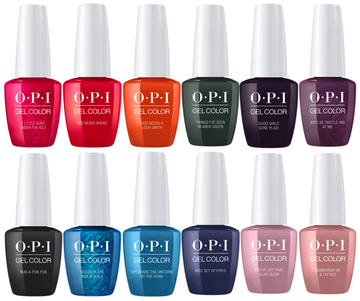 OPI GELCOLOR SCOTLAND FALL COLLECTION 2019 - Nails Plus Depot