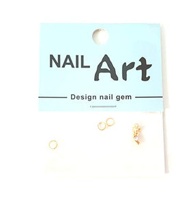 3D Nail Art Dangle Charm -Cowboy Boot - Nails Plus Depot