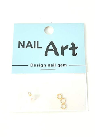 3D Nail Art Dangle Charm - Pearl Drop - Nails Plus Depot