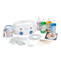 SATIN SMOOTH PROFESSIONAL DOUBLE WAX WARMER KIT - Nails Plus Depot