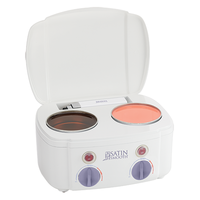 SATIN SMOOTH DOUBLE WAX WARMER - Nails Plus Depot