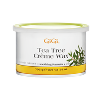 GIGI TEA TREE CREME WAX 14 OZ. - Nails Plus Depot