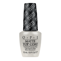 OPI MATTE TOP COAT 15 ML. - Nails Plus Depot