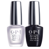 OPI INFINITE SHINE - PRIMER BASE COAT & GLOSS TOP COAT DUO SET 15 ML. - Nails Plus Depot