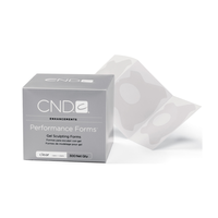 CND CLEAR PERFORMANCE FORMS 300 CT. - Nails Plus Depot