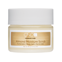 CND ALMOND MOISTURE SCRUB 17.5 OZ - Nails Plus Depot