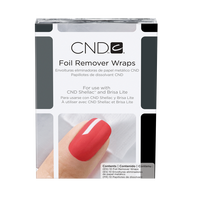 CND FOIL REMOVER WRAPS 10 CT. - Nails Plus Depot