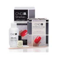 CND SHELLAC OFFLY FAST 8 MINUTE REMOVAL & CARE KIT - Nails Plus Depot - Professional Nail Supplies