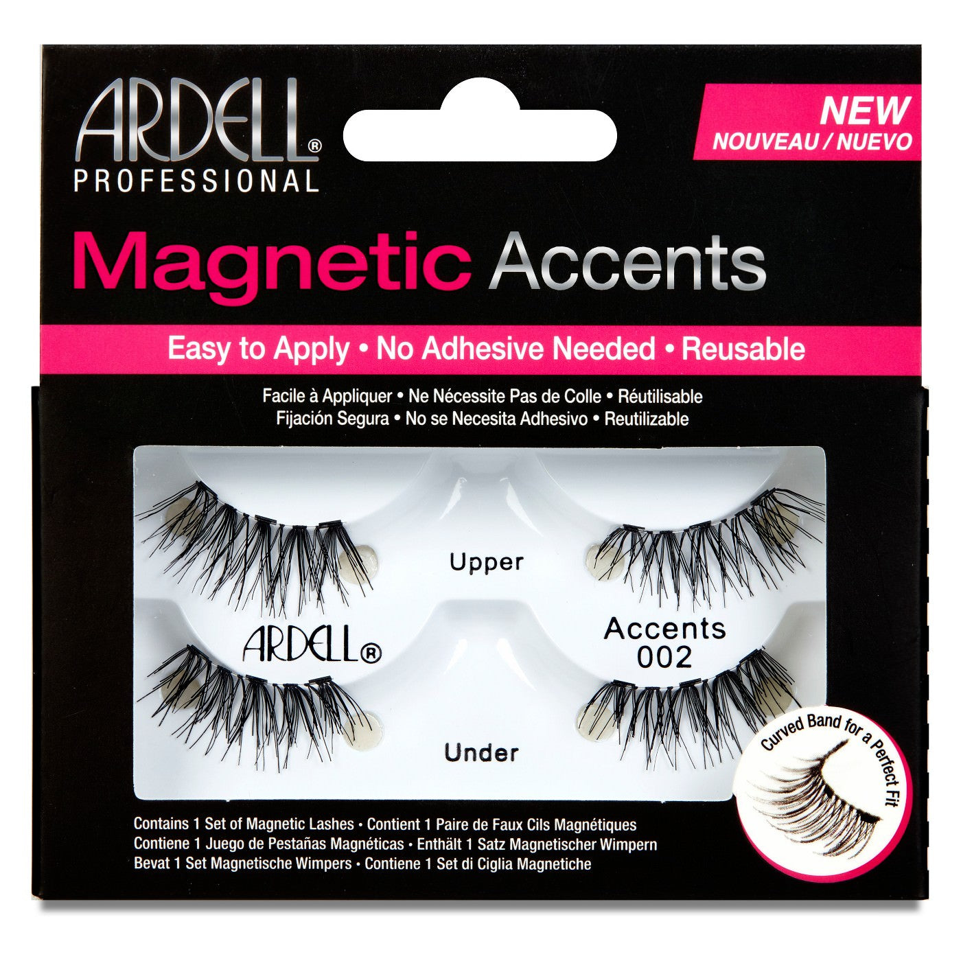 Ardell Accents #002 Magnetic Lash - Nails Plus Depot