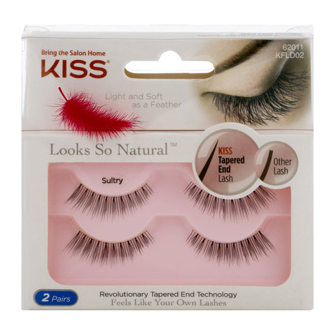 Kiss Looks So Natural Lashes - Nails Plus Depot
