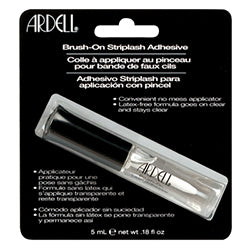 BRUSH-ON LASH ADHESIVE .18 OZ. - Nails Plus Depot