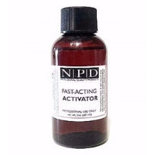 FAST ACTING ACTIVATOR (SOLD WITH PUMP SPRAY) 2 oz. - Nails Plus Depot