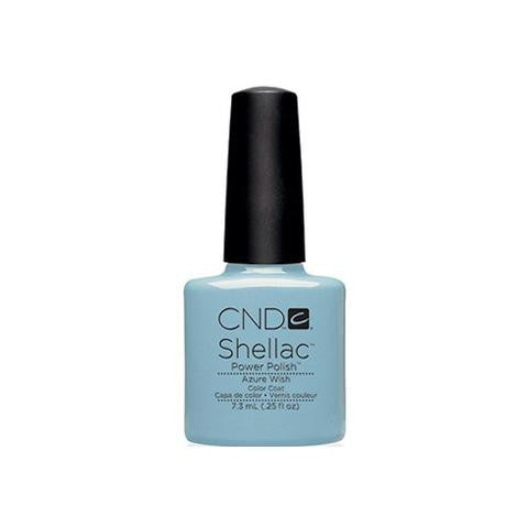 CND SHELLAC - AZURE WISH  .25 OZ. - Nails Plus Depot