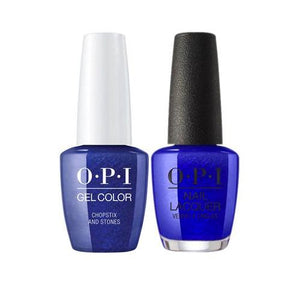 OPI GelColor + Matching Nail Lacquer Chopstix and Stones - Nails Plus Depot