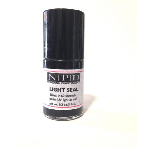 LIGHT SEAL-DUAL DRYING SYSTEM .5OZ (15 ML.) - Nails Plus Depot - Professional Nail Supplies