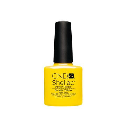 CND SHELLAC -  BICYCLE YELLOW  .25 OZ. - Nails Plus Depot