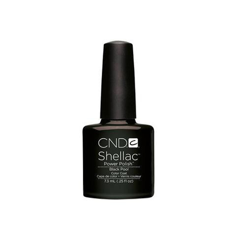 CND SHELLAC -  BLACK POOL  .25 OZ. - Nails Plus Depot