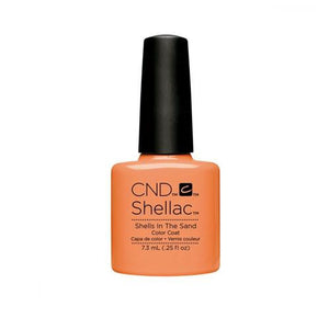 CND SHELLAC SHELLS IN THE SAND .25 OZ. - Nails Plus Depot