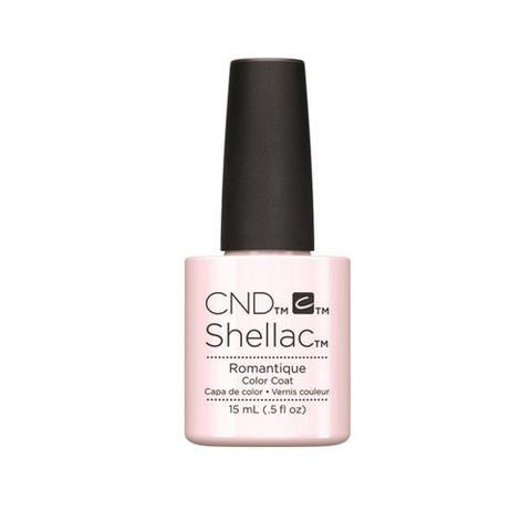 CND SHELLAC - ROMANTIQUE  .25 OZ. - Nails Plus Depot