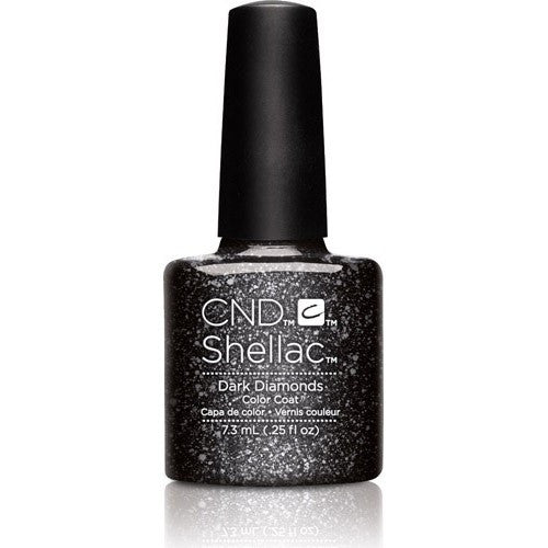 CND SHELLAC - DARK DIAMONDS  .25 OZ. - Nails Plus Depot - Professional Nail Supplies
